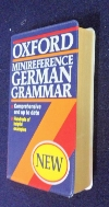 OXFORD MINIREGERENCE GERMAN GRAMMAR(P) [포켓용]/사진의 제품  / ☞ 서고위치:RS 4  *[구매하시면 품절로 표기 됩니다]