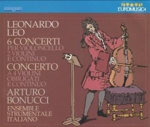 Arturo Bonucci, Ensemble Strumentale Italiano / Leonardo Leo - 6 Concerti per Violoncello (2CD/수입/2210263)