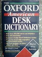 THE OXFORD AMERICAN DESK DICTIONARY /(하단참조)