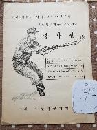 야구 우수선수선발전(세계대회및 아시아선수권대비) 1972년야구협회 리플릿