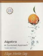 Algebra : A Combined Approach, 3/ed (Includes CD-ROM) (ISBN : 9780131870017)