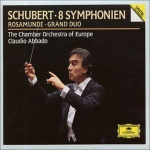 Claudio Abbado / 슈베르트 : 교향곡 전집 (Schubert : Symphonies Nos.1-6, 8, 9) (5CD Box Set/수입/4236512)