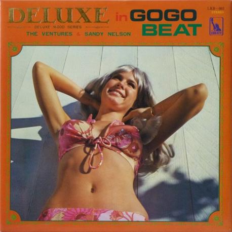 [일본반][LP] Ventures And Sandy Nelson - Deluxe In Gogo Beat [Deluxe Edition][Gatefold]