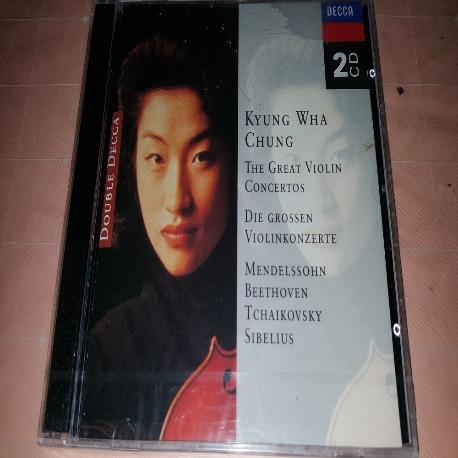 정경화 - The great Violin Concerto (유명 바이올린 협주곡, 미개봉앨범)