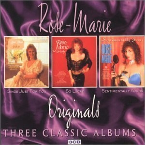Rose Marie / Three Classic Albums (Sings Just For You/So Lucky/Sentimentally Yours) (3CD Box Set/수입