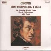 [중고] Ida Cernecka, Marian Pivka, Libor Pesek / Chopin - Piano Concerto No.1 & 2 (수입/8550019)