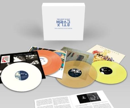 빛과 소금 (THE LIGHT & SALT) ? The Complete Studio Albums (LP 미개봉)
