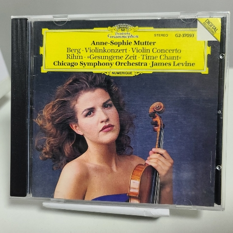 Anne-Sophie Mutter : Berg Violin Concerto 외