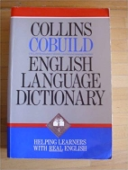 Collins COBUILD English Language Dictionary (Collins Cobuild) 비닐커버