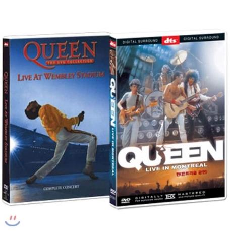 보헤미안 랩소디 퀸 온 파이어 [QUEEN ON FIRE: LIVE AT THE BOWL] 퀸 보헤미안 랩소디 (윔블리 공연 / 몬트리올 공연) (2disc) [미개봉 신품] - '보헤미안 랩소디 퀸 온 파이어'와 다른 상품