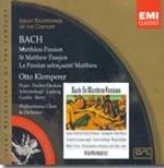 Johann Sebastian Bach - St Matthew Passion / Klemperer 바하 마테수난곡 3CDs