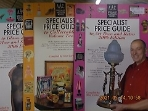 AAC SPECIALIST ANTIQUES BOOKS/3권 : SPECIALIST PRICE GUIDE (TO ART DECO AND RETRO/TO COLLECTABLES/TO