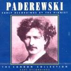 [미개봉] Ignace Jan Paderewsk / Early Recordings By The Pianist (미개봉)