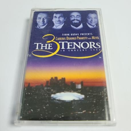 (중고 카세트 테이프) The tree Tenors - The 3 Tenors in concert 1994