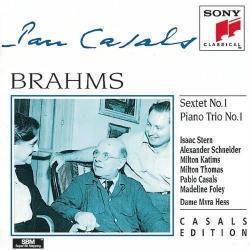 Pablo Casals / 브람스 : 현악 육중주 1번, 피아노 삼중주 1번(수입/SMK58994)