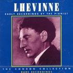 [미개봉] Joseph Lhevinne / Early Recordings By The Pianist (미개봉)
