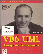 [영어원서 컴퓨터] VB6 UML Design and Development (Jake Sturm, 1999년) (Paperback)