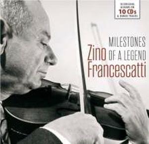Zino Francescatti / 프란체스카티 명연집 - 오리지널 앨범 컬렉션(10CD Box Set/수입)
