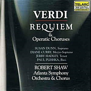 [수입] Robert Shaw - 베르디 : 레퀴엠 (Verdi : Requiem, Operatic Choruses) [2CD]