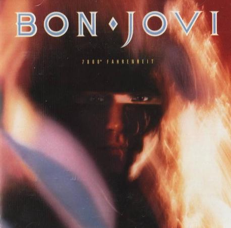 [일본반] Bon Jovi - 7800° Fahrenheit [Picture disc]