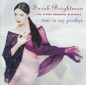 [수입] Sarah Brightman & The London Symphony Orchestra - Time To Say Goodbye