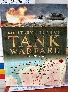 MILITARY ATLAS OF TANK WARFARE -전쟁 외국서적, 하드커버, 아주큰책-