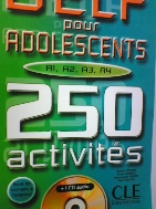 DELF Pour Adolescents 250 Activites   (CD 없음)