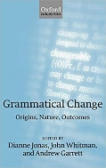 Grammatical Change:Origins, Nature, Outcomes       (Hard)