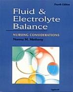 Fluid & Electrolyte Balance: Nursing Considerations 4/e