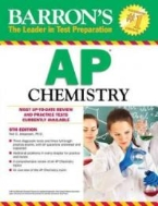 Barron's AP Chemistry, 6th Edition Paperback