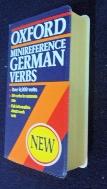 OXFORD MINIREFERENCE GERMAN VERBS(P) [포켓용]/사진의 제품  / ☞ 서고위치:RS 4  *[구매하시면 품절로 표기 됩니다]
