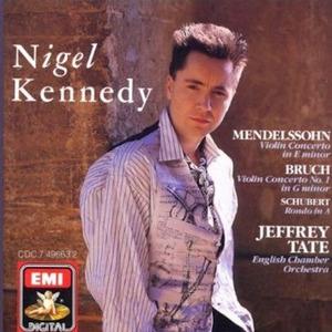 [중고] Nigel Kennedy, Jeffrey Tate / Mendelssohn, Bruch - Violin Concertos (수입/cdc7496632)