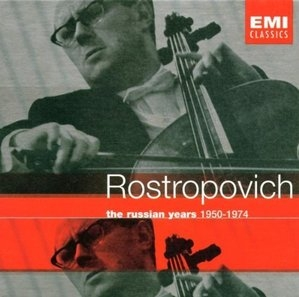 Mstislav Rostropovich / The Russian Years 1950-1974 (13CD Box Set/수입/5720162)