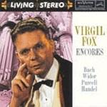 Virgil Fox / 버질 폭스 - 오르간 앙코르 수입/09026612512)