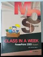 POWERPOINT 2003 EXPERT(CLASS IN A WEEK)(MOS)