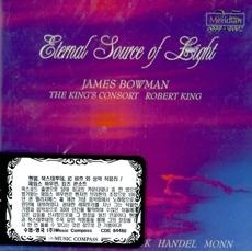 [미개봉] James Bowman, The King's Consort / Eternal Source Of Light (헨델, 북스테후데 외 : 성악 작품집) (수입/CDE84480