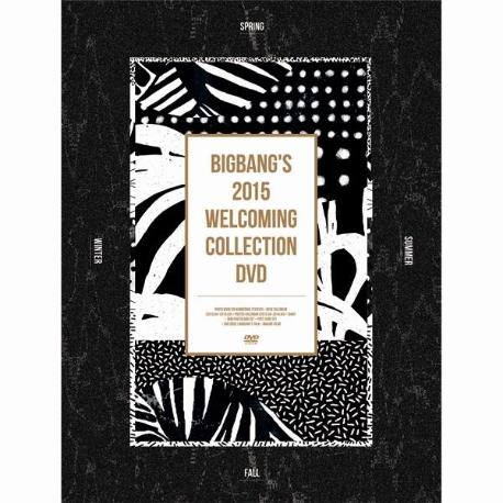 빅뱅 - BIGBANG's 2015 Welcoming Collection DVD(홍보용)