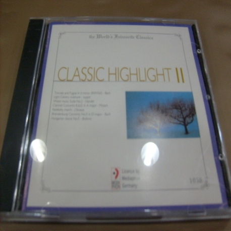 [수입 CD] Classic Highlight Ⅱ - 1050