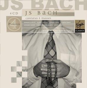 Philippe Herreweghe / 바흐 : 칸타타와 미사 (J.S. Bach : Cantatas, Masses) (4CD Box Set/수입/5622522)