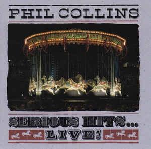 [수입] Phil Collins - Serious Hits...Live!