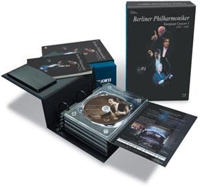 베를린 필하모닉 유로피안 콘서트 1991-1995 [Berlin European Concert 1991-1995/ 5disc Dts]  - 미개봉, 슬림박스