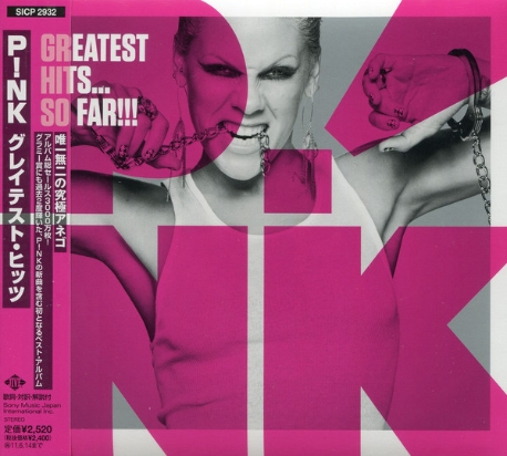 [일본반] Pink - Greatest Hits... So Far!!! [Digipack]