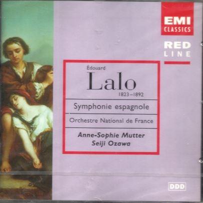 Lalo 스페인교향곡+ Carmen Suite+ Zigeunerweisen [수입] 미개봉 * 랄로 사라사테 비제 무터