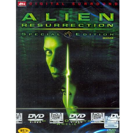 (DVD) 에이리언 4 SE (Alien Resurrection Special Edition, 2disc)