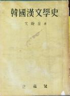 한국한문학사-문선규 1961년발행
