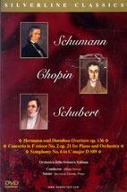 [DVD] Milan Horvat / Schumann, Chopin, Schubert (미개봉)