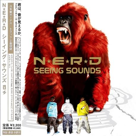 [일본반] N.E.R.D. - Seeing Sounds [+2 Bonus Track][스티커포함]