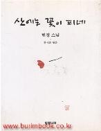 1998년판 법정스님 산에는 꽃이 피네 (805-4)