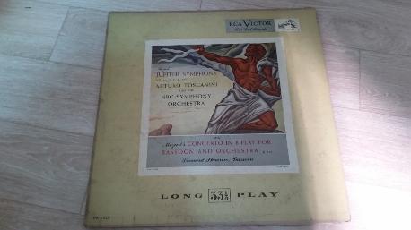 ARTURO TOSCANINI mozart symphony no 41 jupiter LP VG LM-1030