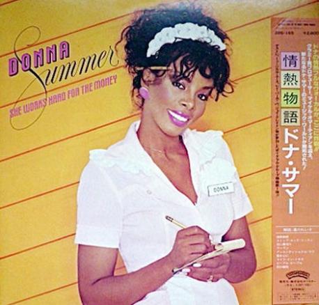 [일본반][LP] Donna Summer - She Works Hard For The Money